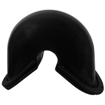 TRANSOM CORNER FENDER LARGE (230MM) BLACK EACH